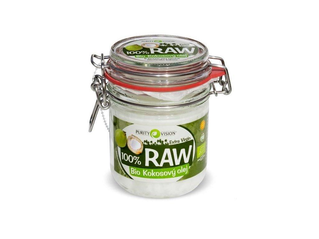 0003591 raw kokosovy olej bio 300 ml