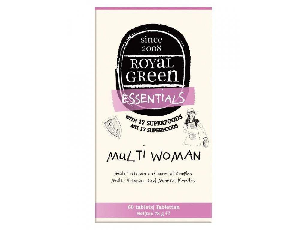 0007950 royal green multivitamin pro zeny 60 tablet