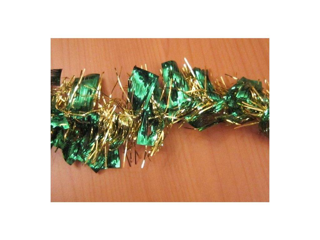 0002319 retez dvoubarevny zelenozlaty