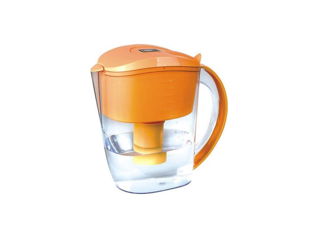 0011131 filtracni konvice s alkalickym vodnim filtrem oranzova