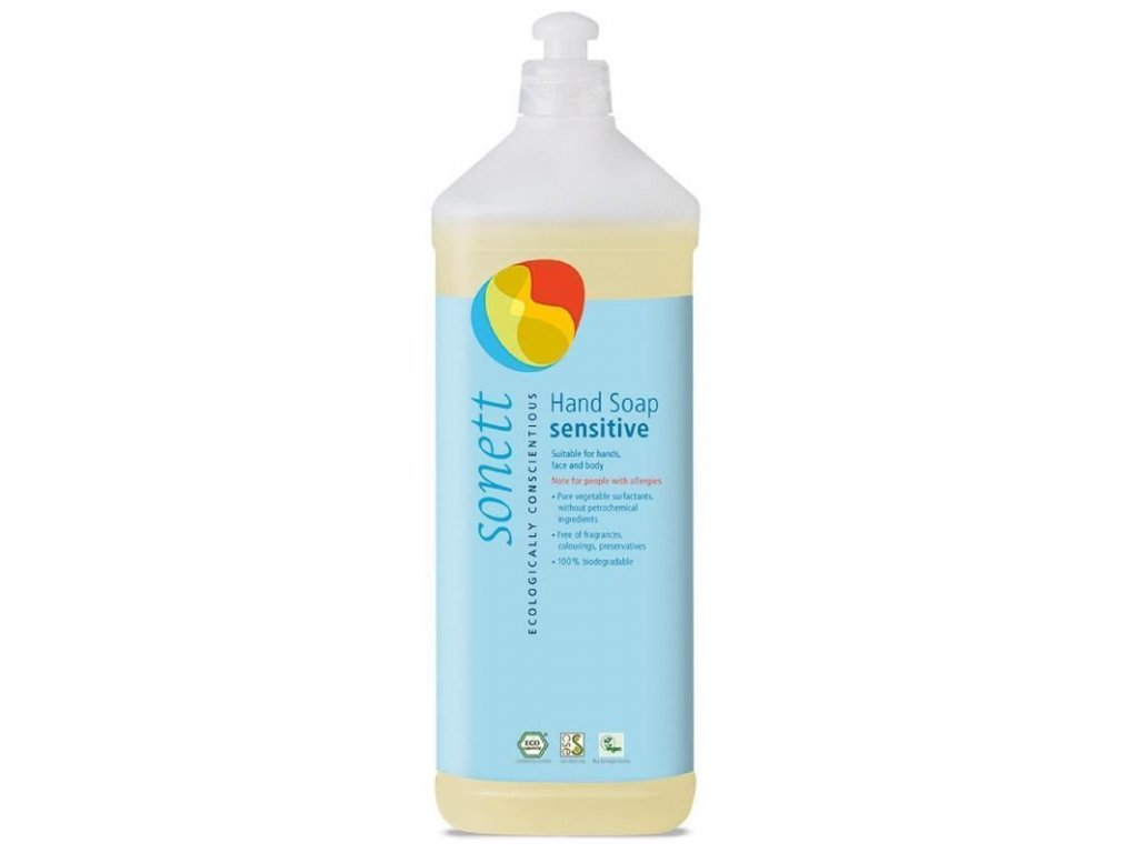 0005803 sonett tekute mydlo na ruce sensitiv 1 l