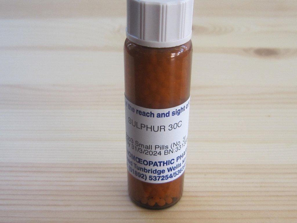 0011972 sulphur 30 c 8 g