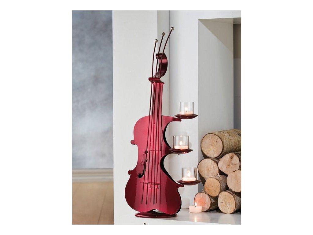 0000711 svicen violina cervena