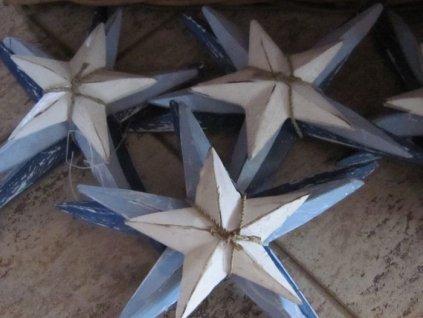 0000168 drevena hvezda sada