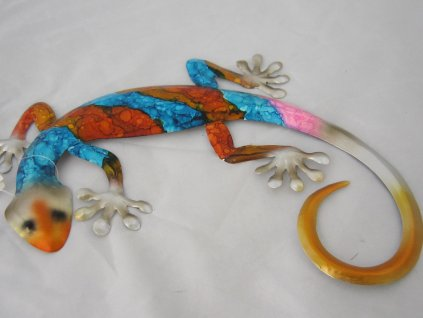 0010393 gekon jesterka barevna