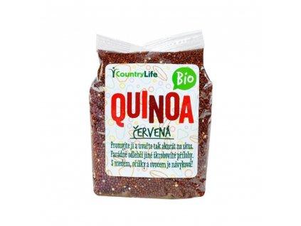 0004689 quinoa cervena 250g bio country life