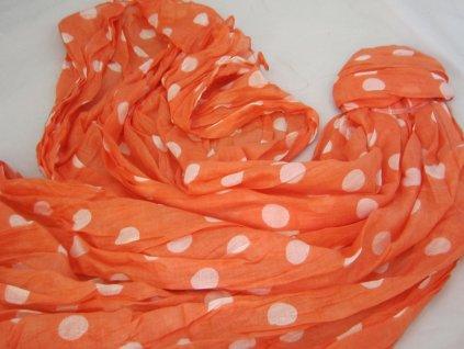 0010644 sala oranzova puntik