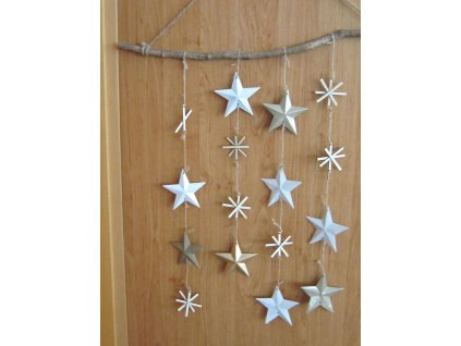 0011293 zaves hvezdy a vlocky