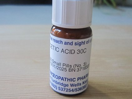 Acetic acid 30C proti plevelům 4 g
