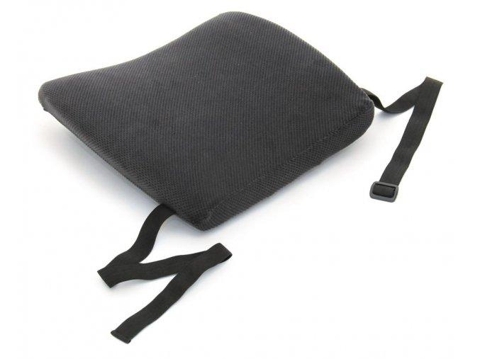 Náhradná velúrová obliečka na opierku do auta sivá