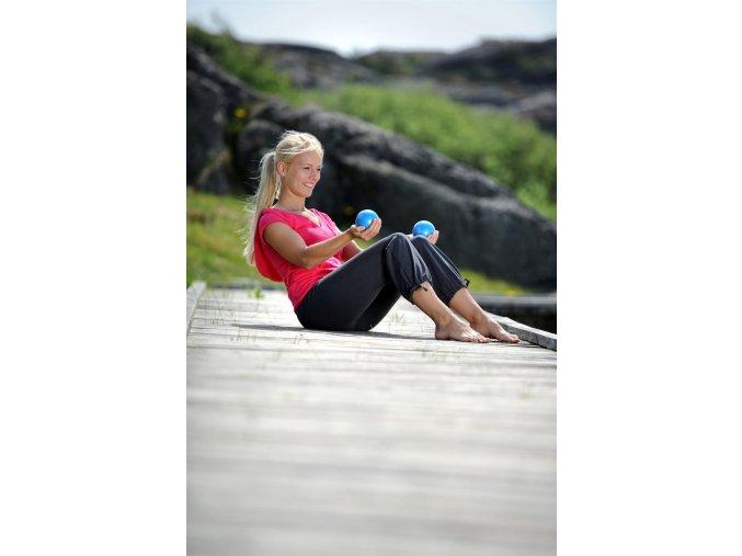 Pilates lopta na tonizovanie svalov set