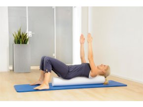 Pilates valec biely