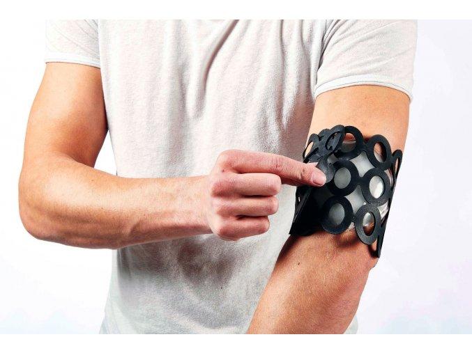 Gumovy obvaz na fixovanie predmetov Usyfix cierny rameno