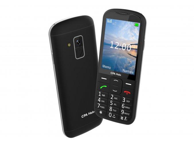 Mobilny telefon pre seniorov CPA Halo 18 cierny