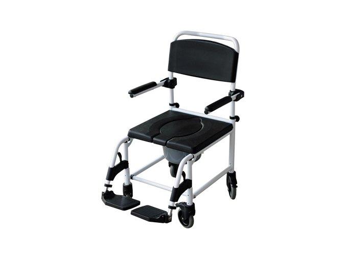 Toaletný a sprchovací vozík polstrovaný Mobilex