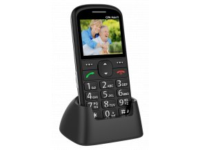Mobilny telefon pre seniorov CPA Halo 11 cierny