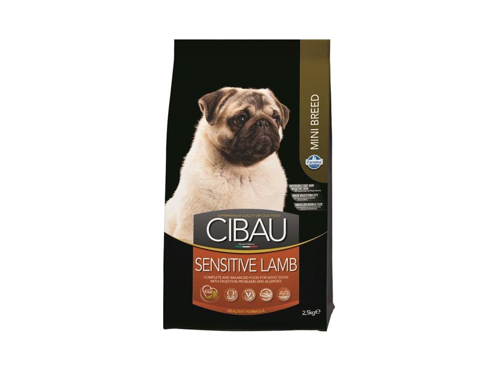 Farmina MO SP CIBAU dog adult sensitive lamb mini 2,5 kg