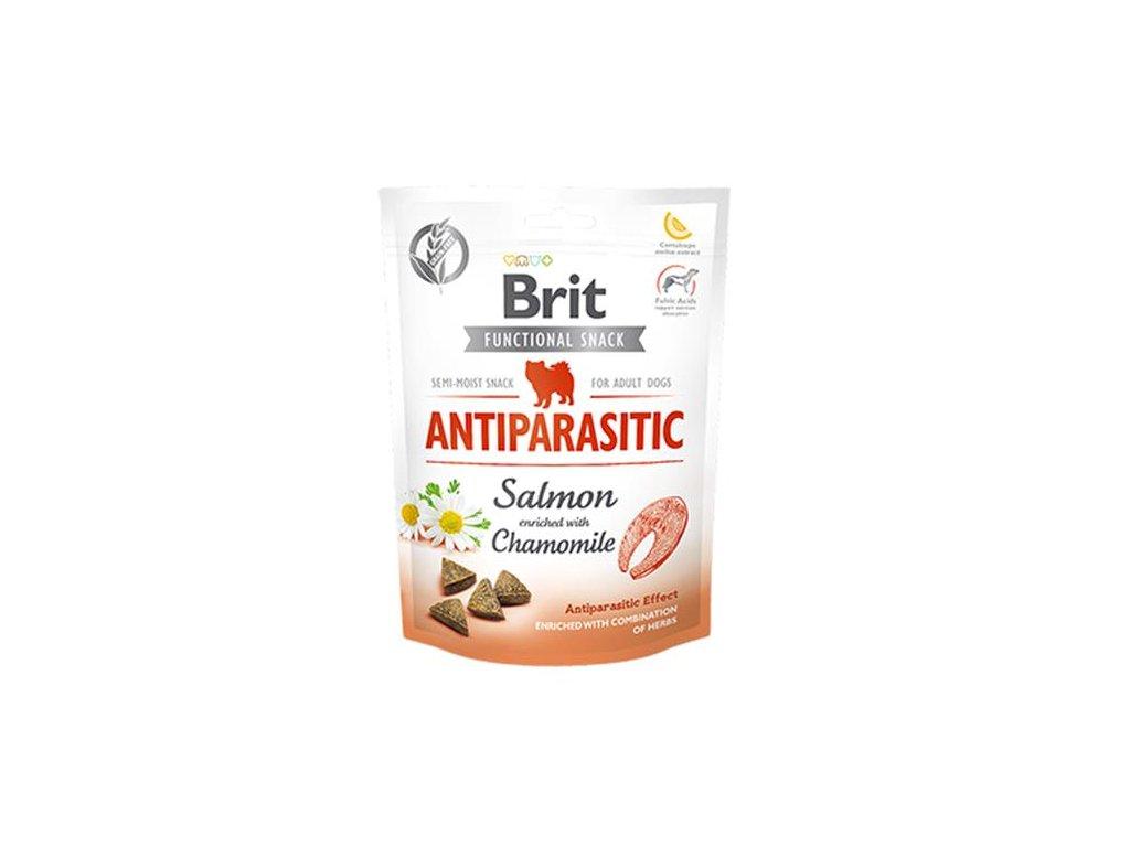 Pamlsok Brit Care Dog Functional Snack Antiparasitic Salmon 150 g