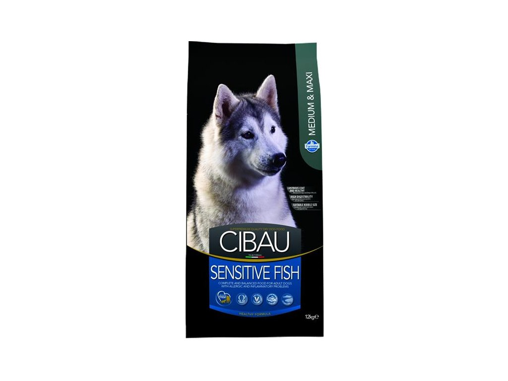 Farmina MO SP CIBAU dog adult sensitive fish medium & maxi 12 kg