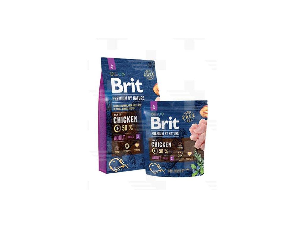 Brit Premium by Nature dog Adult S 8 kg