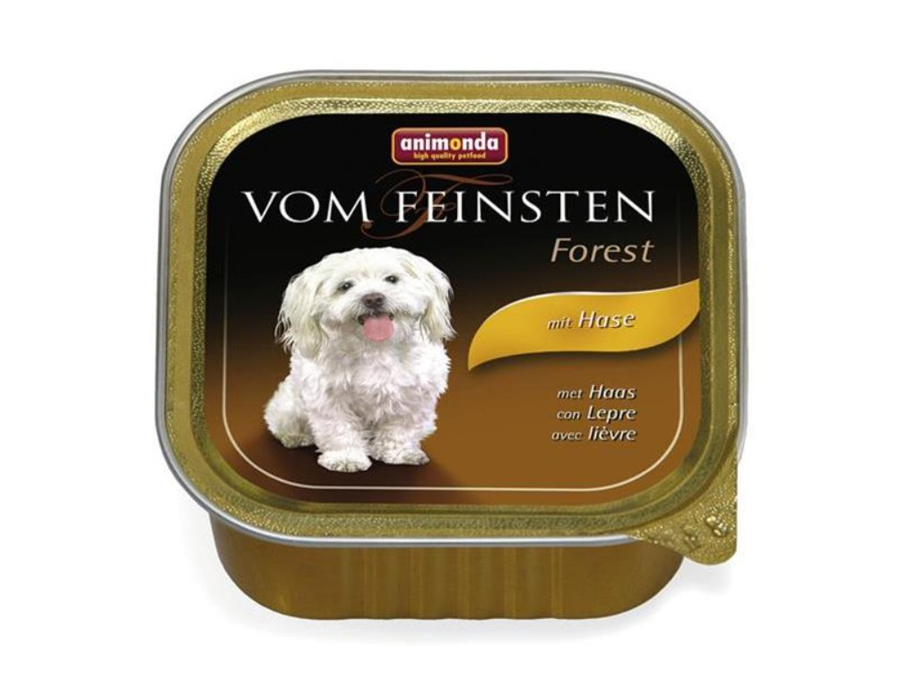 Animonda Vom Feinsten dog ADULT králik 150 g