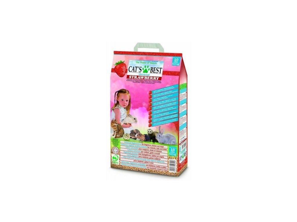 Podstielka CATS BEST Universal Strawberry 5,5 kg (10 L)
