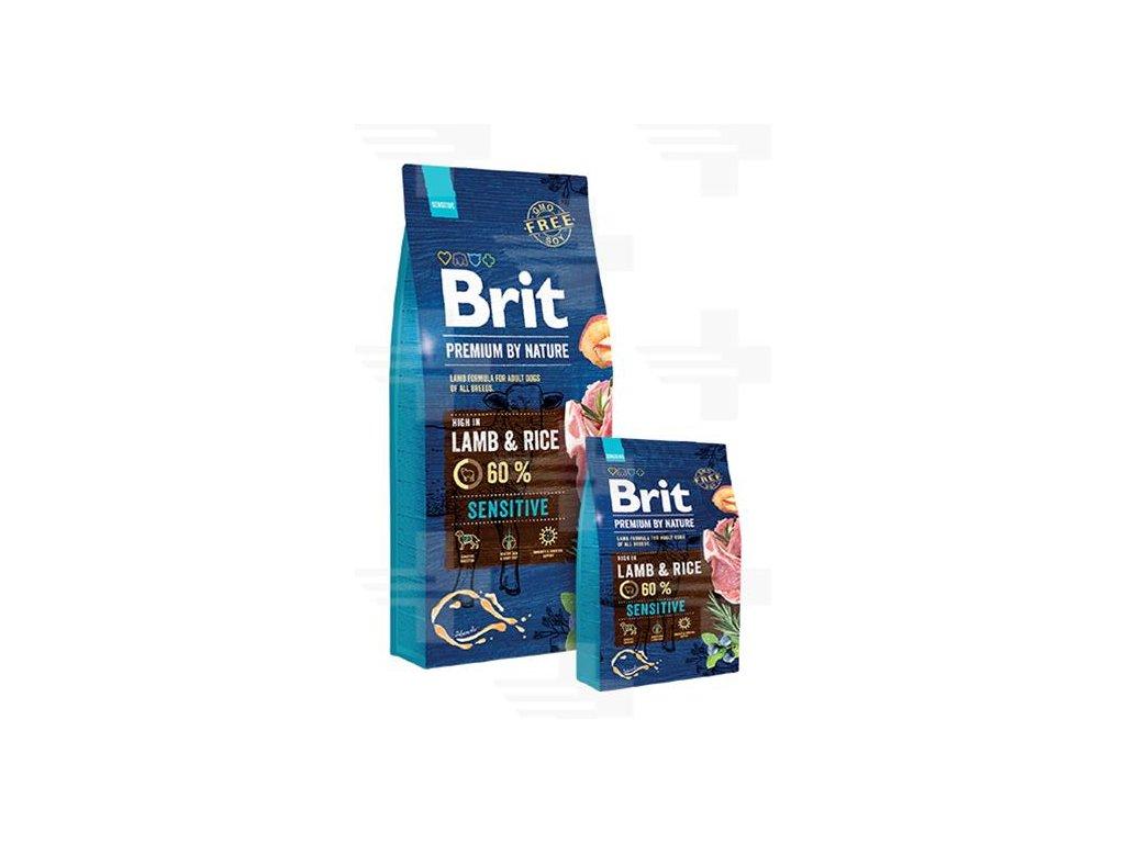 Brit Premium by Nature dog Sensitive Lamb 8 kg