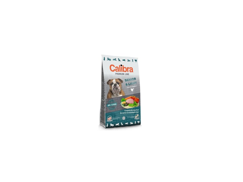 Calibra Premium Line Dog Senior & Light 12 kg