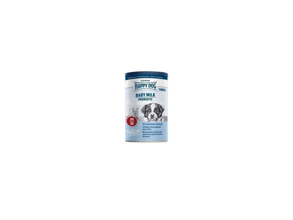 Happy Dog SUPER PREMIUM - Supreme YOUNG - Baby Milk Probiotic 500 g