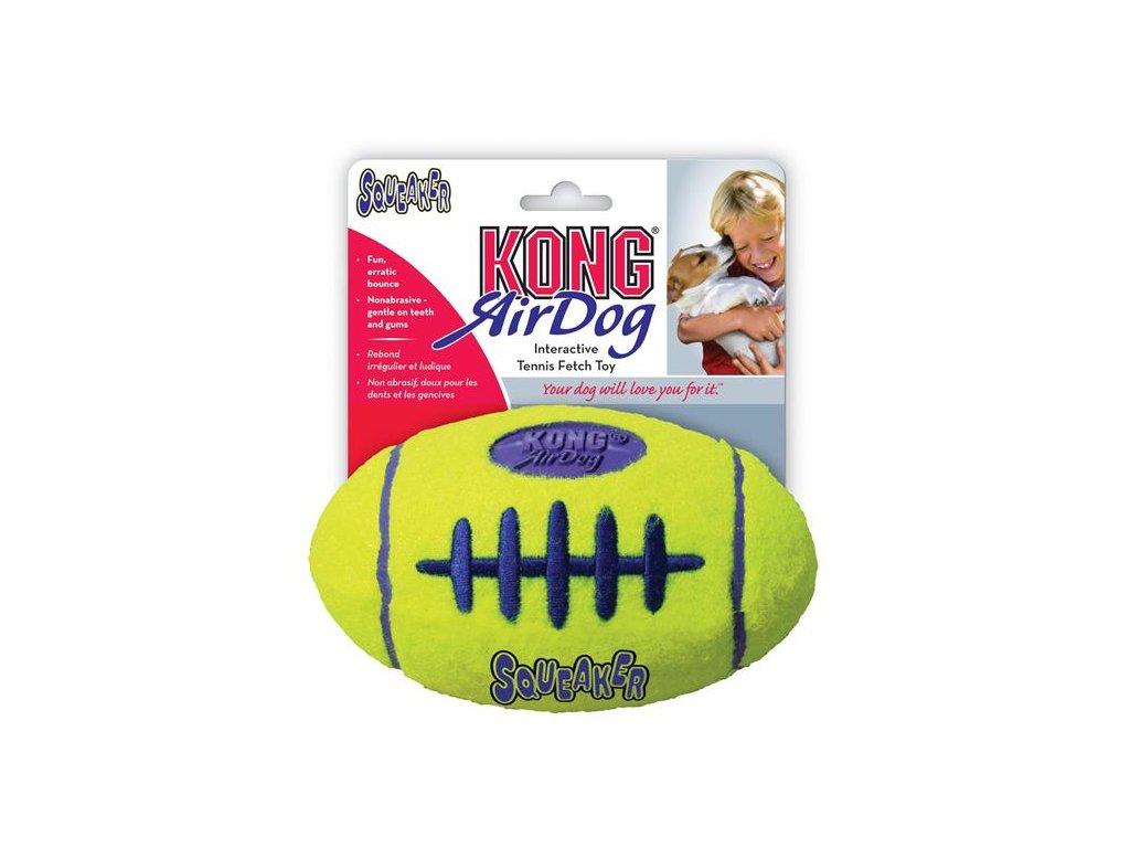 Hračka Kong Air Dog Lopta rugby tenis M