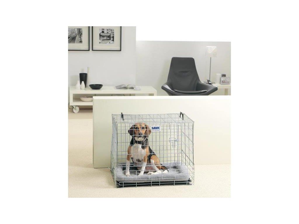 Klietka SAVIC Cottage pre psa kovová 107 cm