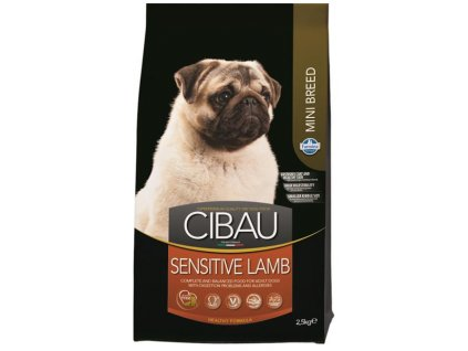 Farmina MO SP CIBAU dog adult sensitive lamb mini 2,5 kg