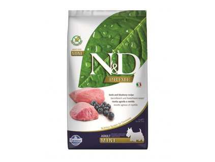 Farmina N&D dog PRIME adult mini lamb&blueberry 2,5 kg