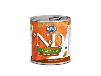 Farmina N&D dog PUMPKIN & Venison konzerva 285 g