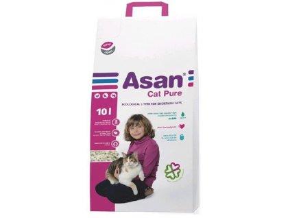Podstielka ASAN Pure pre mačky a fretky 10 L (2 kg)