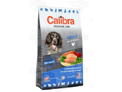Calibra Premium Line Dog Adult 3 kg