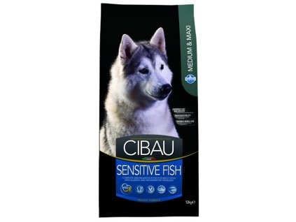 Farmina MO SP CIBAU dog adult sensitive fish medium & maxi 12 kg