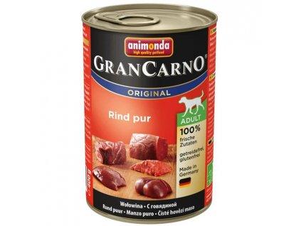 Animonda GRANCARNO® dog adult hovädzie 400g konzerva