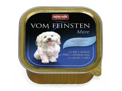 Animonda Vom Feinsten dog ADULT hydina a treska 150 g