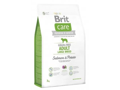 BRIT Care dog Grain free Adult Large Breed Salmon & Potato 3 kg