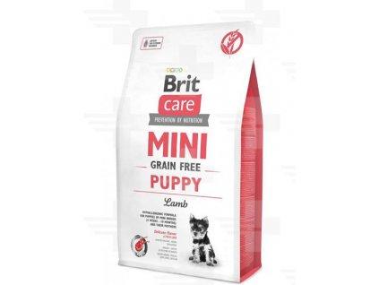 BRIT Care dog MINI Grain free Puppy Lamb 2 kg
