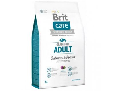 BRIT Care dog Grain free Adult Salmon & Potato 3 kg