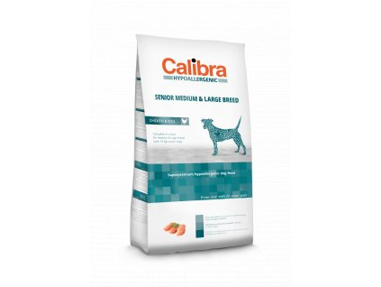 Calibra Dog LG HA Senior Medium & Large Breed Chicken 3 kg