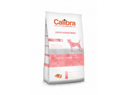 Calibra Dog LG HA Junior Medium Breed Chicken 14 kg