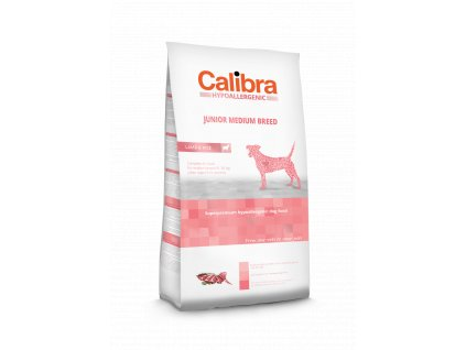 Calibra Dog LG HA Junior Medium Breed Lamb 3 kg