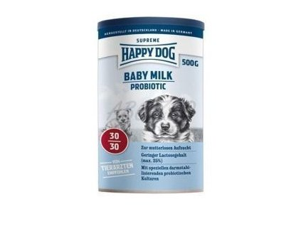 Happy Dog SUPER PREMIUM - Supreme YOUNG - Baby Milk Probiotic 500 g