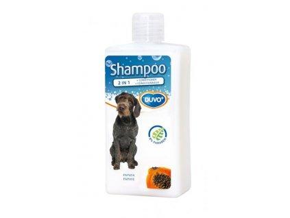 Šampón DUVO+ 2 v 1 dog s papaya extraktom 250 ml