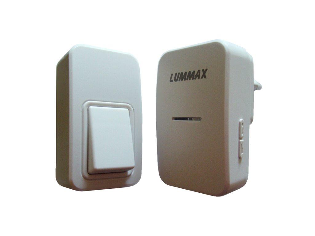Bezdrátový zvonek bezbateriový Lummax