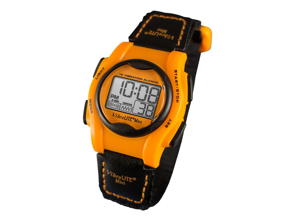 montre vibralite mini vibrante orange vmvor par vibralite cb2