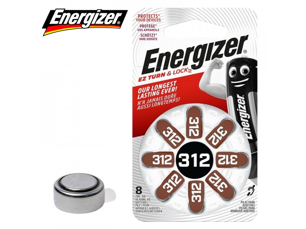 Baterie Energizer 312